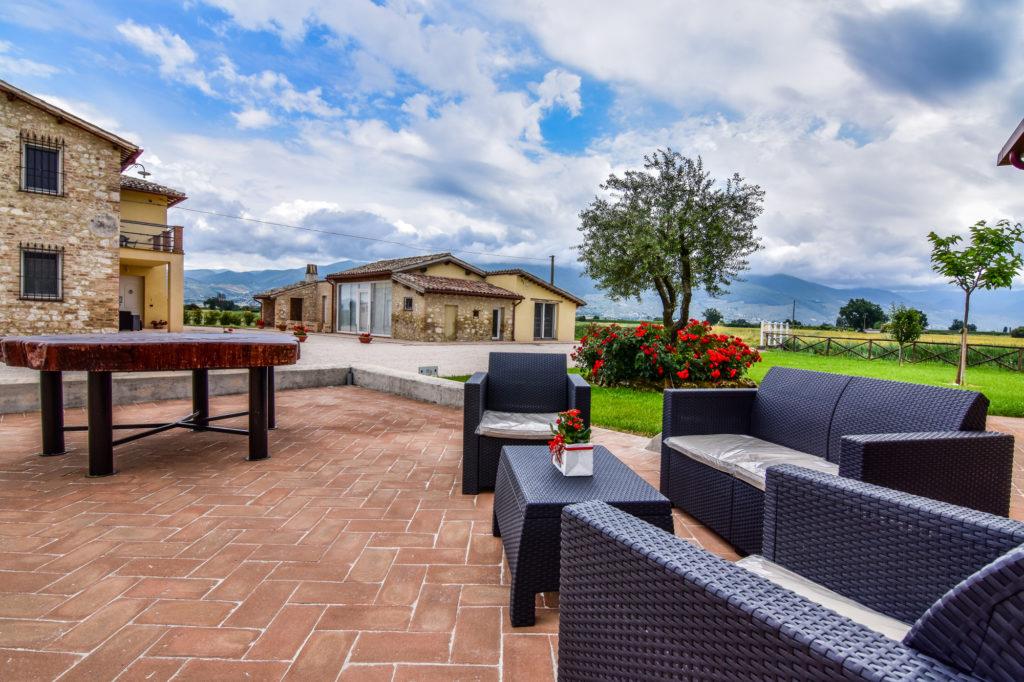 appartamenti vacanza in campagna a montefalco