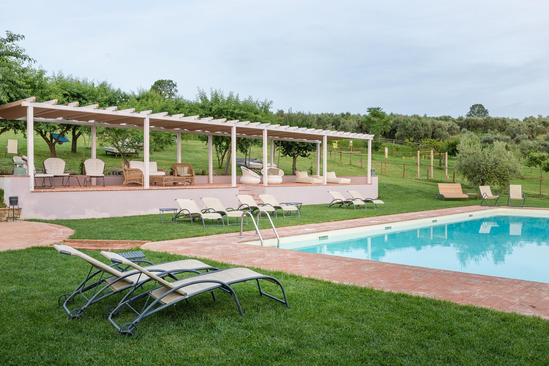 country house con piscina e spa umbria