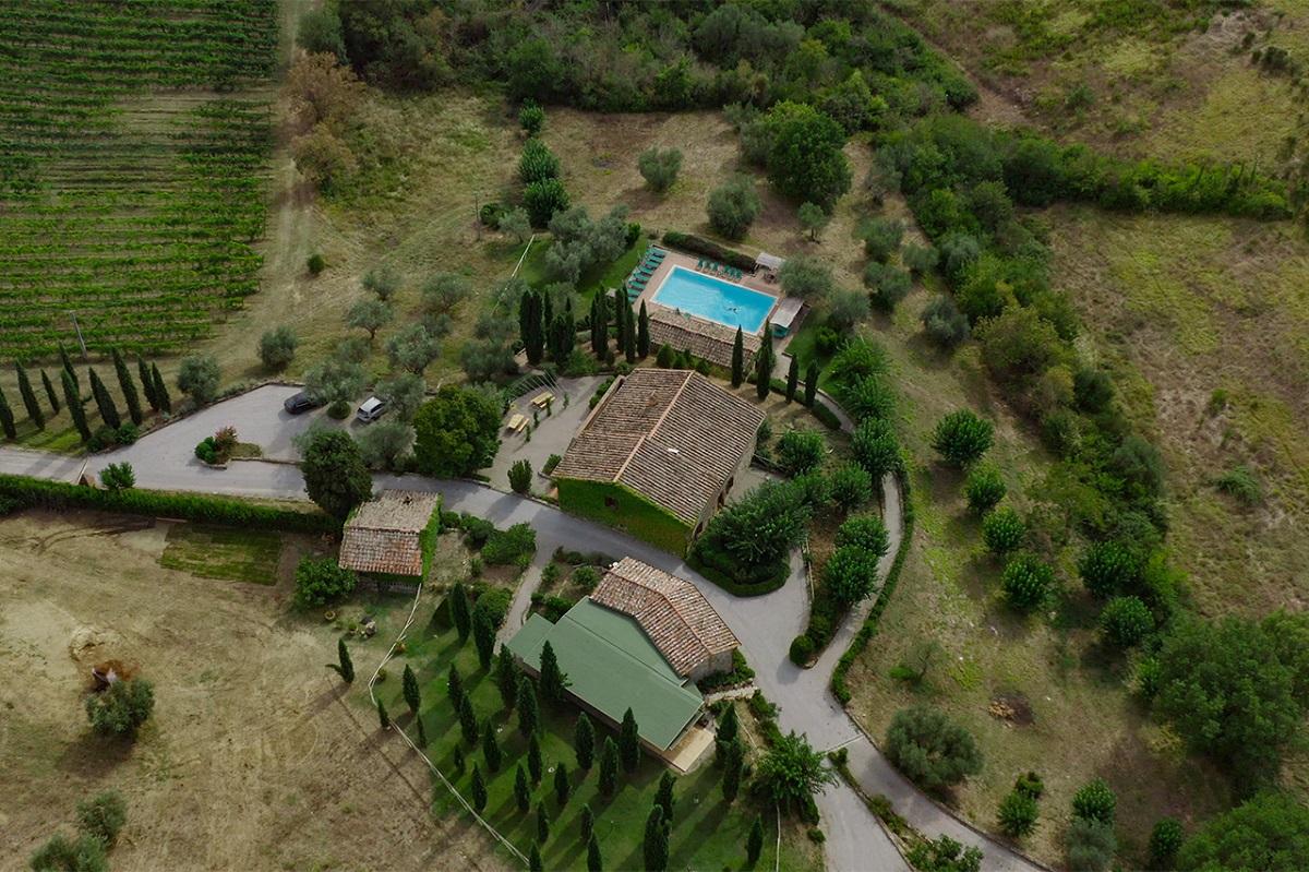 Country resort con Spa per weekend romantico vicino Lago Trasimeno