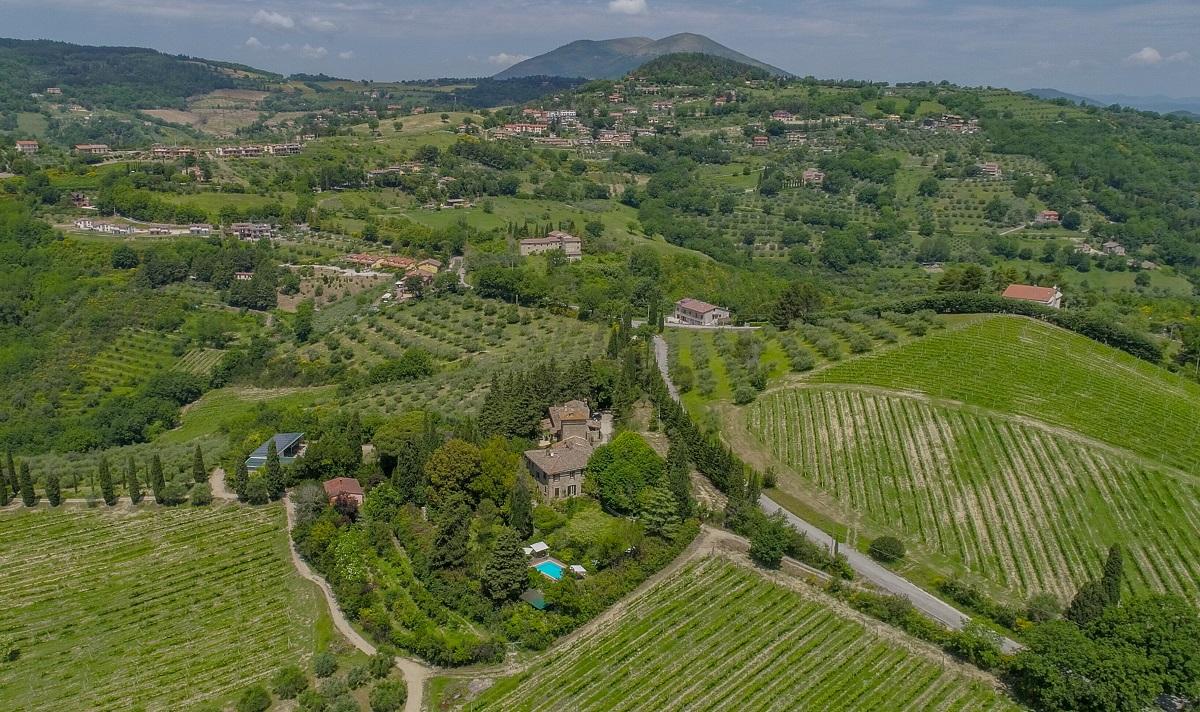 Dormire in hotel di charme vicino Perugia in Umbria