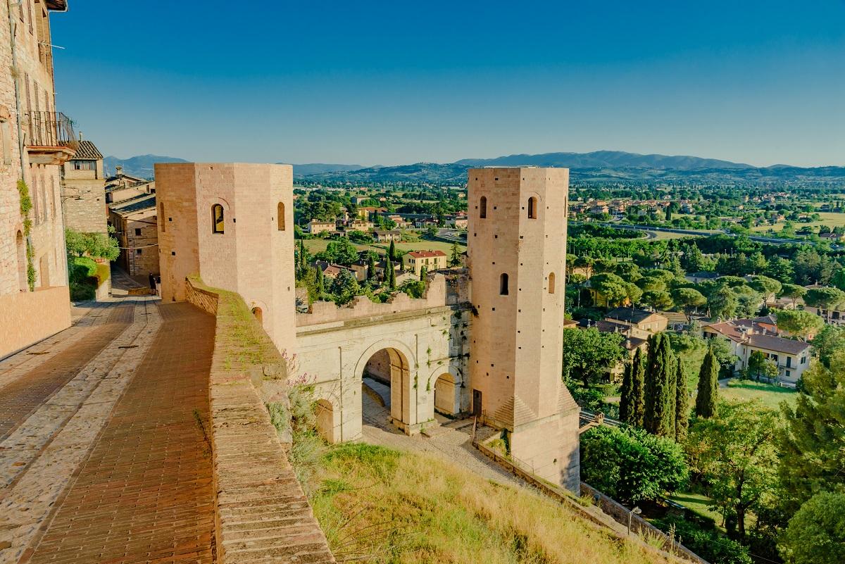 Spello la città dei fiori dell'Umbria