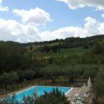 Agriturismo panoramico con Ristorante, fattoria e piscina vicino Assisi