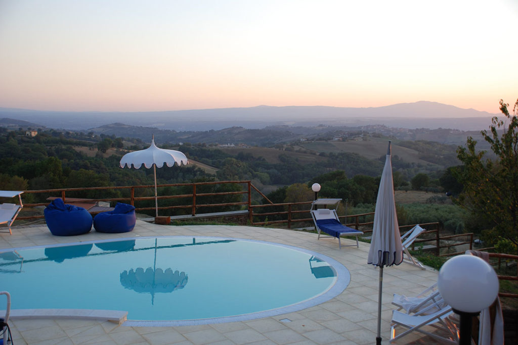 Weekend Romantico in agriturismo con spa in Umbria