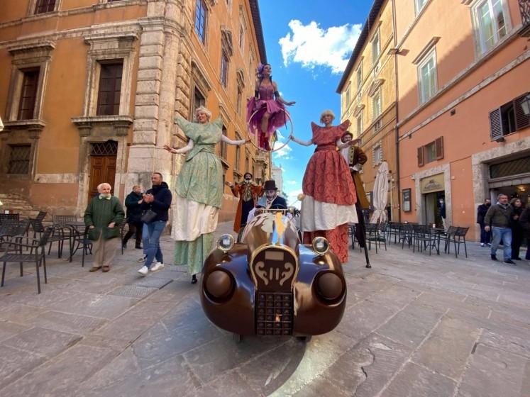 Scopriamo Perugia durante la Festa del cioccolato