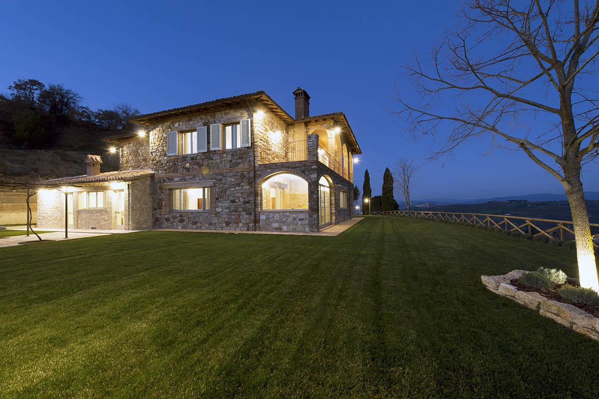 country house con ristorante monte castello